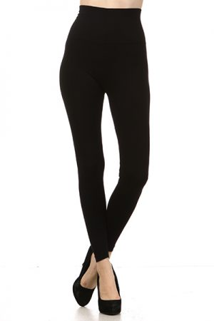 M-Rena Seamless Tummy Control Long Rayon Leggings