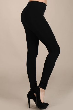 M. Rena Full Length Classic Rayon Leggings