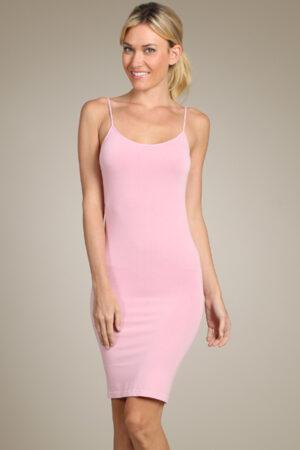 M-Rena Spaghetti-Strap Seamless Bodycon Cami Slip Dress