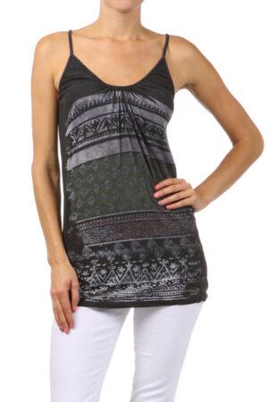 M-Rena Navajo Print Seamless Camisole