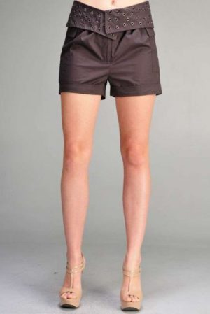 C. Luce Side Pockets Trendy Shorts