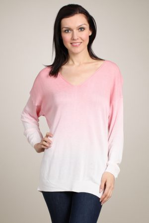 M-Rena Ombre Light Weight Sweater Top