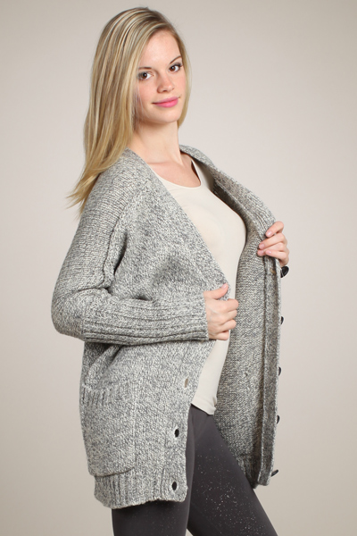 M-Rena Super Soft Boyfriend Cardigan