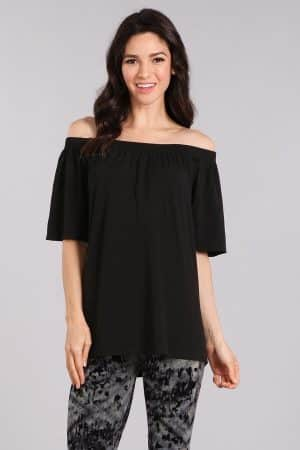 M. Rena Off Shoulder Seamless Top