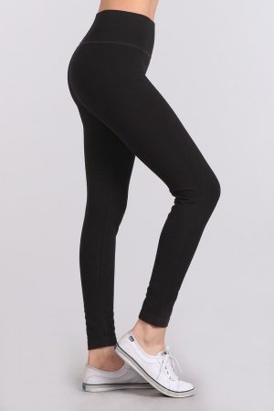 M. Rena High Waist Sporty Pintuck Legging