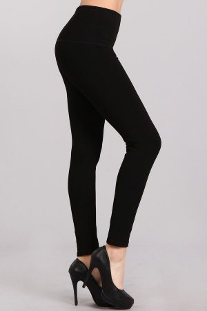 M. Rena Tummy Tuck French Terry Winter Leggings