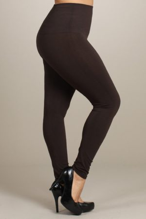 M.Rena Plus Size Tummy Control Long Rayon Leggings